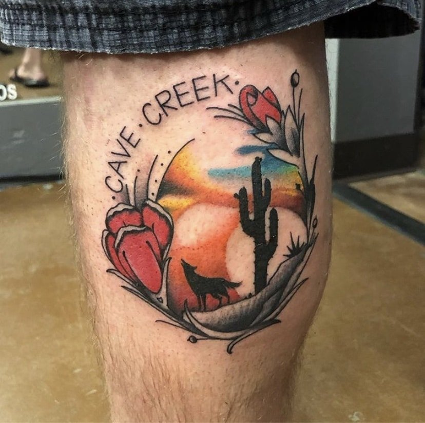 Best Arizona-Themed Tattoos To Celebrate The State's Birthday