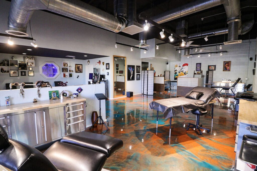 Inside Sentient Tattoo Collective in Tempe, AZ